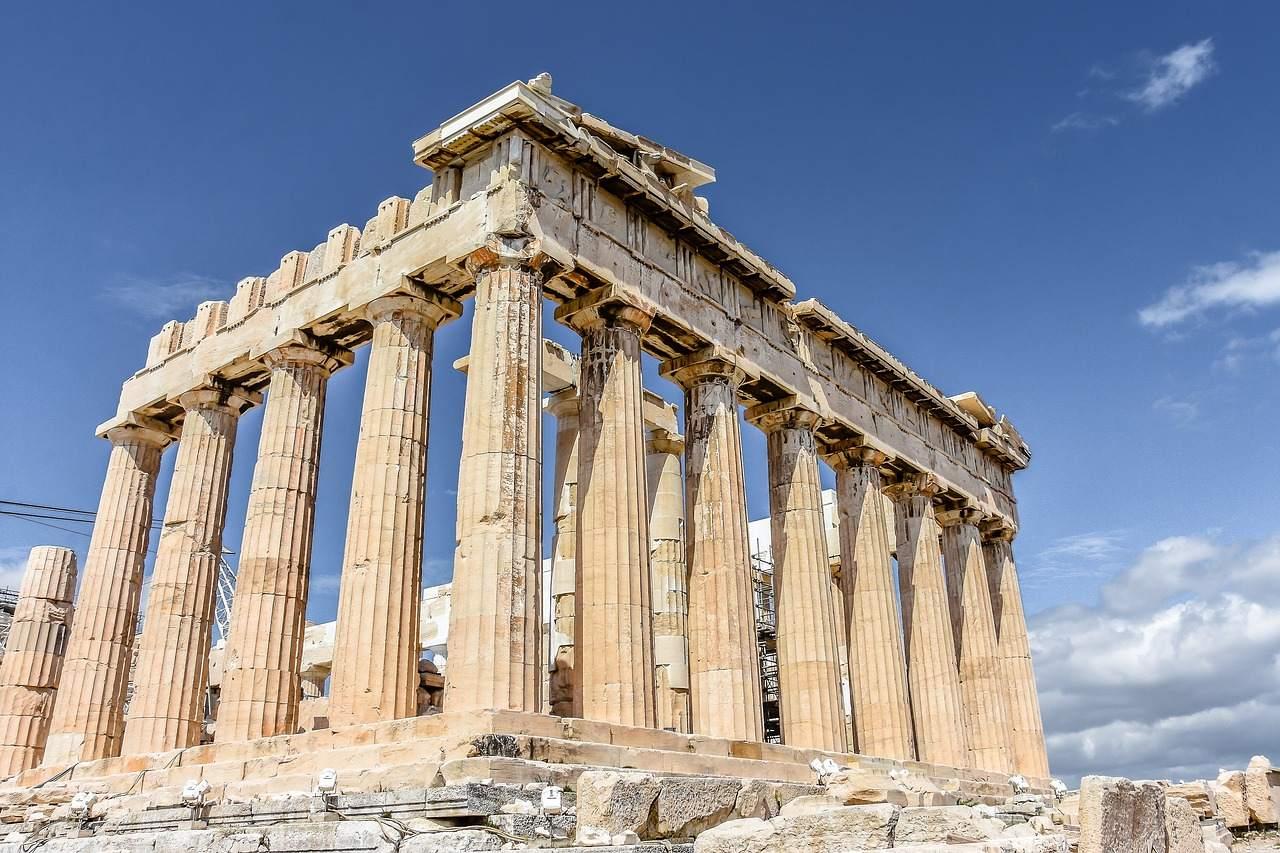 Akropolis in Athen Griechenland