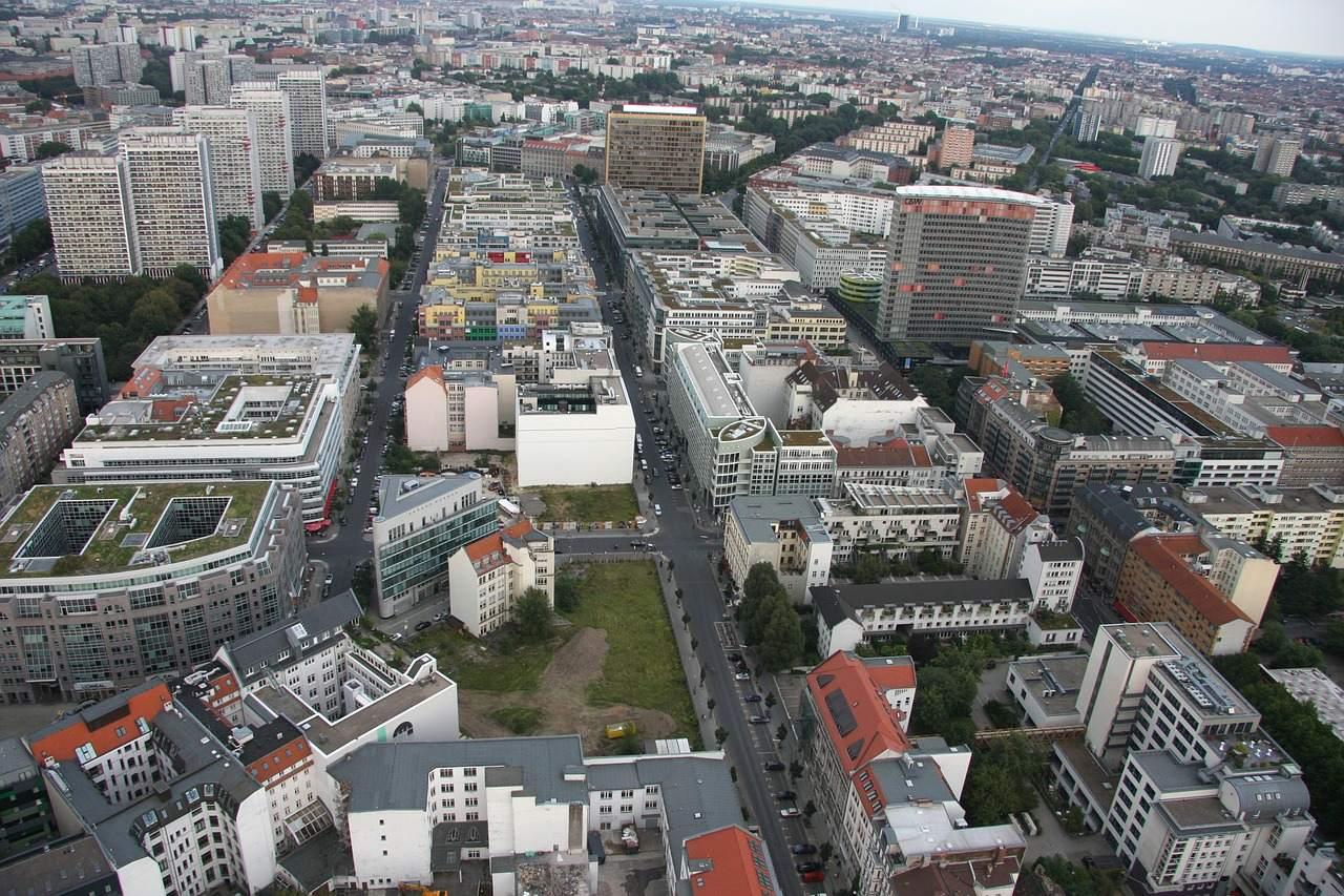 Blick auf Berlin-Mitte - Mietendeckel in Berlin beschlossen