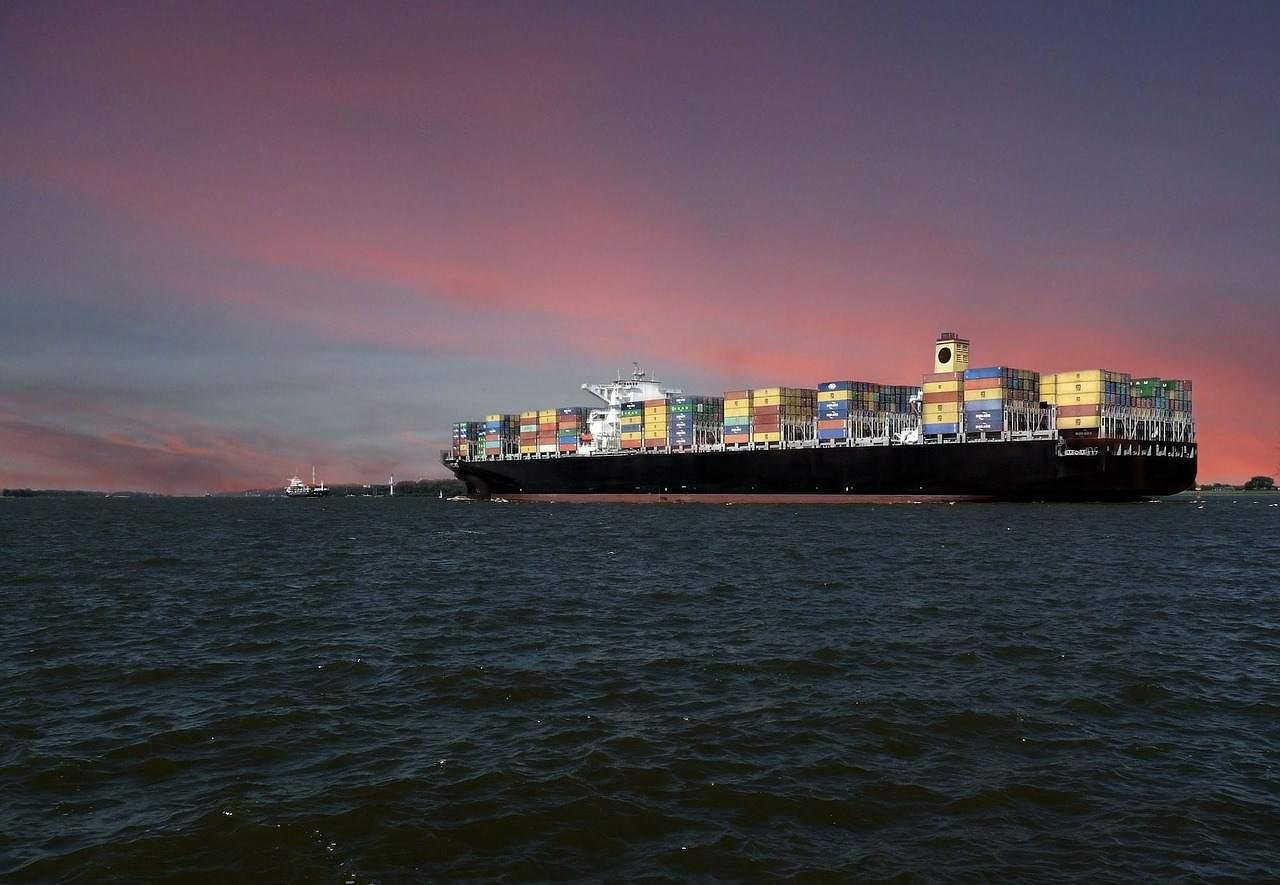Containerschiffe - Symbole im Handelskrieg