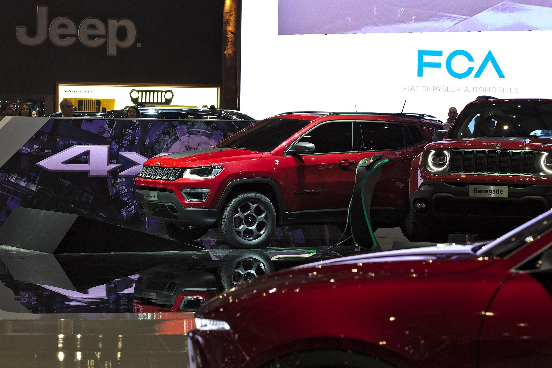 Fiat Chrysler Autopräsentation in Genf
