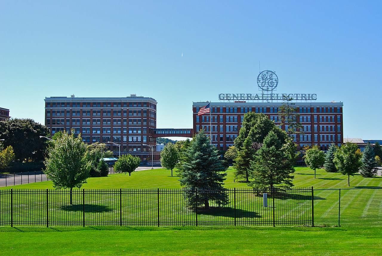 General Electric Geländer in NY