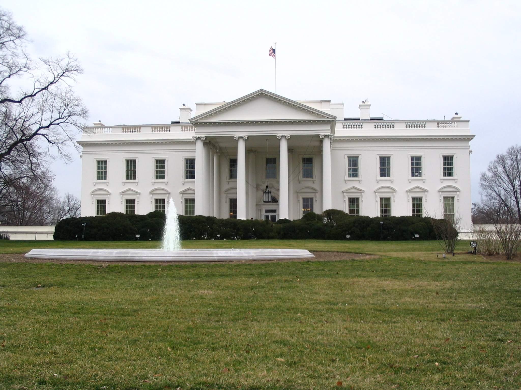 Weißes Haus in Washington DC