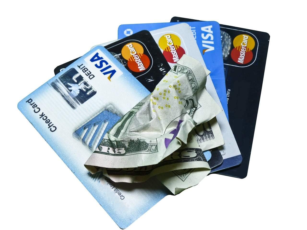 Kreditkarte Beispielbild