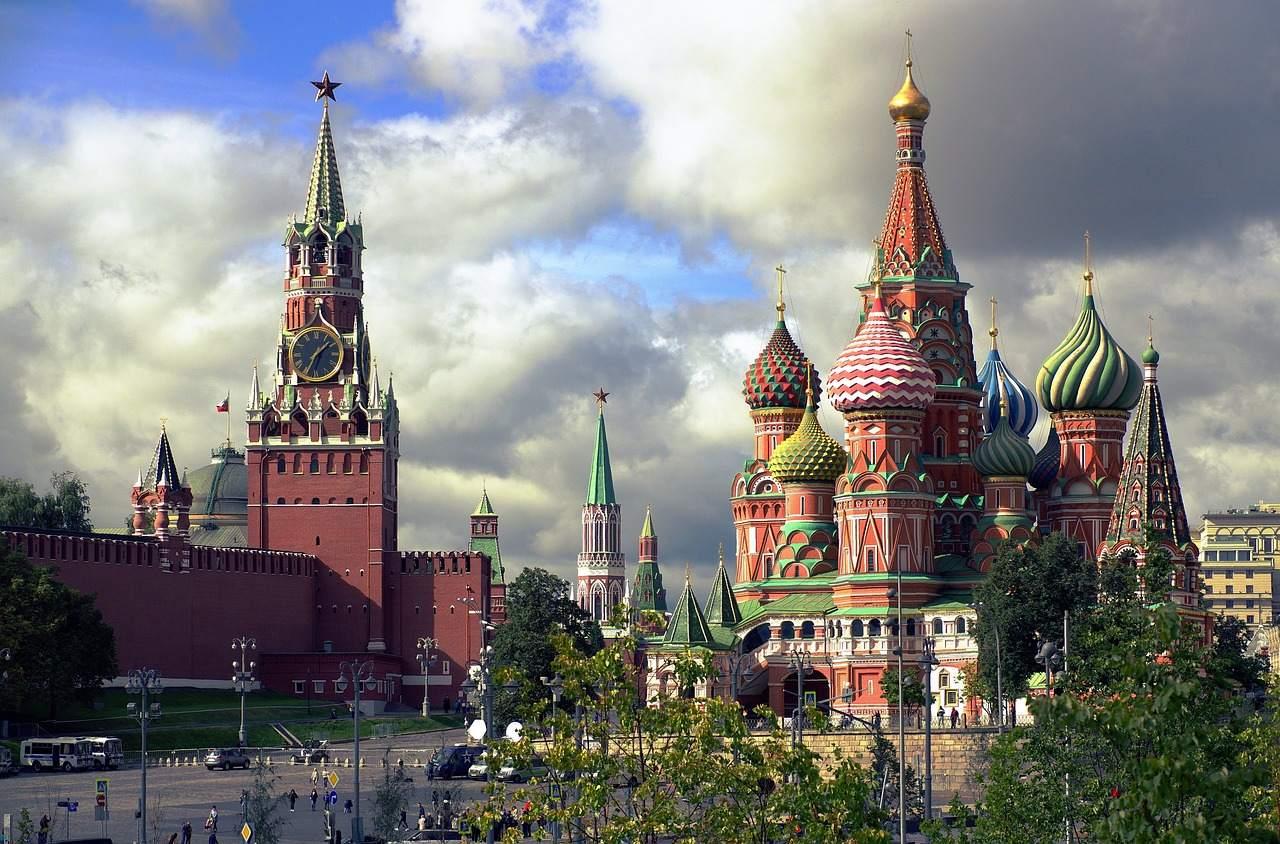 Russland Roter Platz Kreml