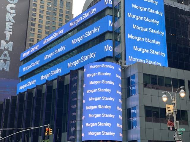 Morgan Stanley Zentrale in New York