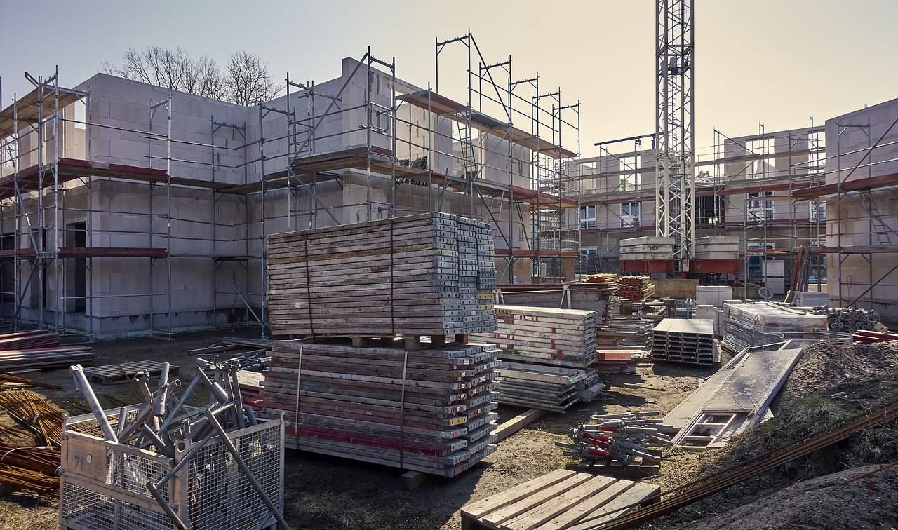 Neubau von Immobilien Beispielbild