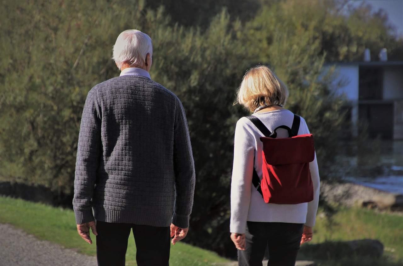 Rentenversicherung vor Desaster - Rentner Beispielbild