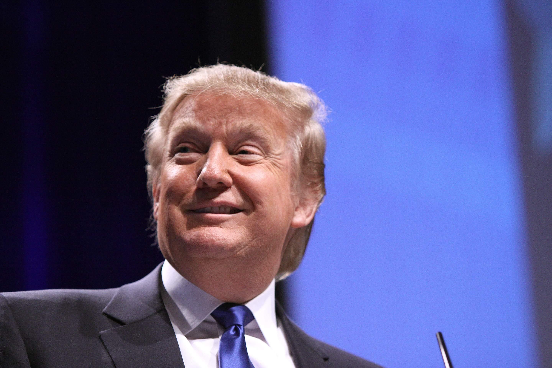Donald Trump hat gut Lachen - für den Augenblick