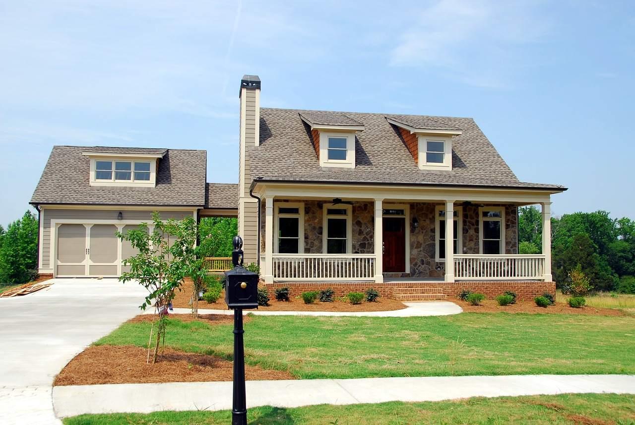 US-Immobilienmarkt - typisches Haus