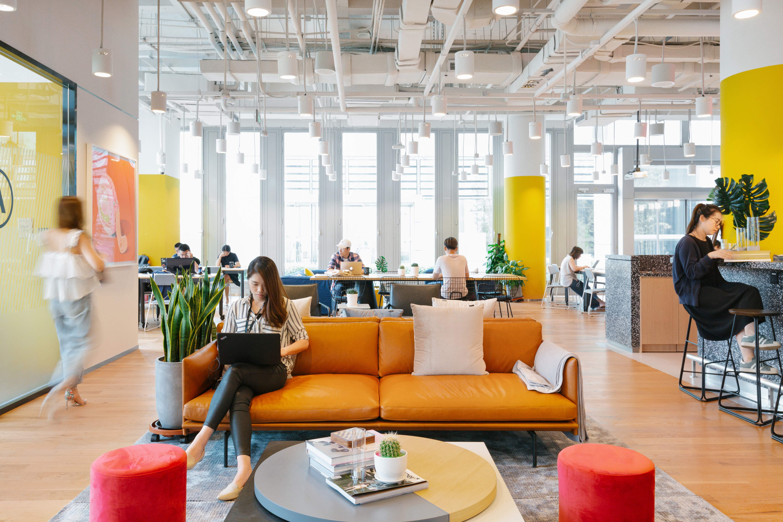 WeWork Office Beispielfoto