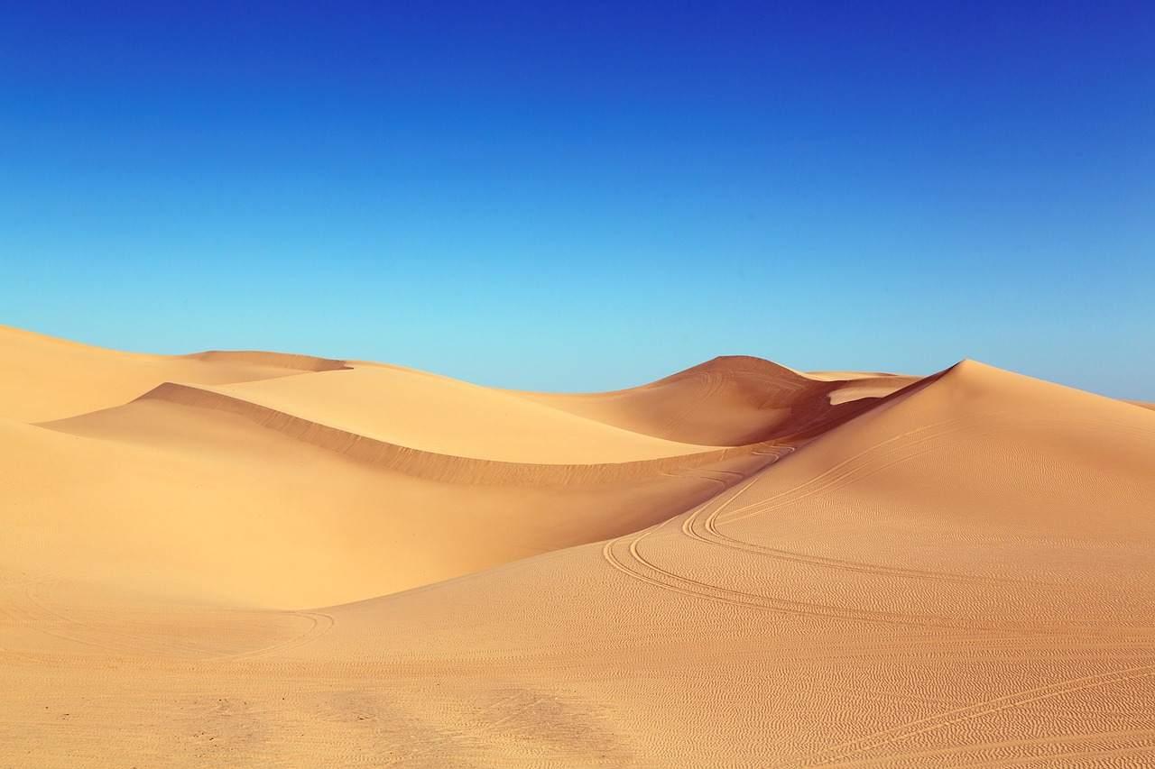 Wüste Sand Beispielfoto