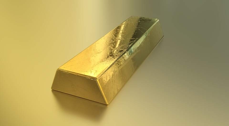 Ein Goldbarren - Beispielfoto