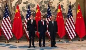 Die Verhandlungsführer im Handelskrieg