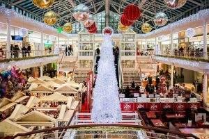 Trotz eher schwacher Konjunktur wird Weihnachten konsumiert