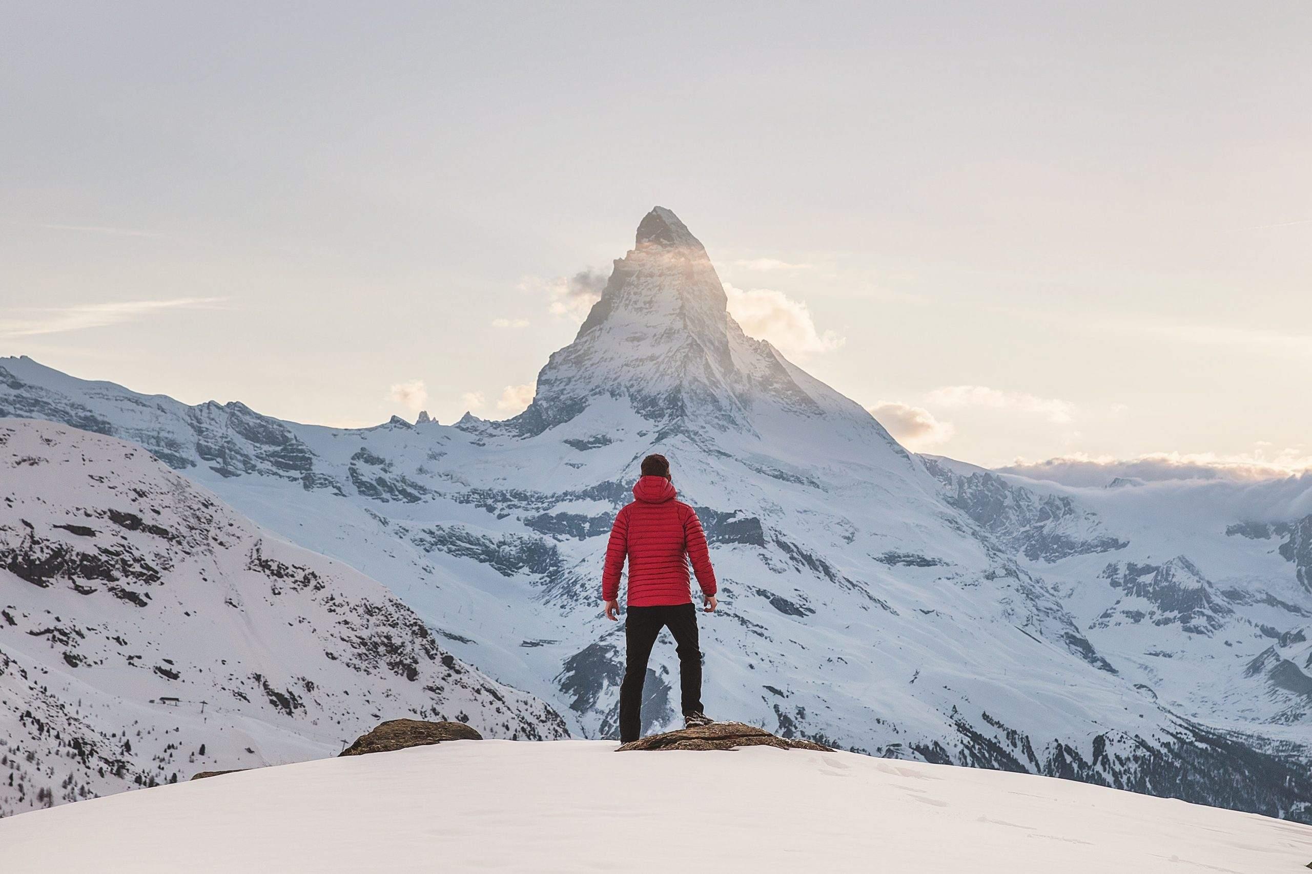 Rauf zur Bergspitze - Symbolbild für weiteren Anstieg im Dax