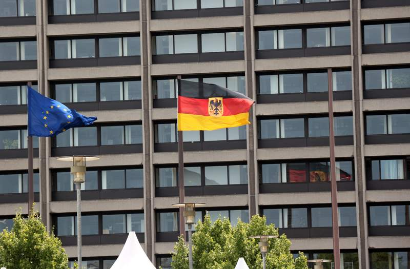 Bundesbank Zentrale in Frankfurt