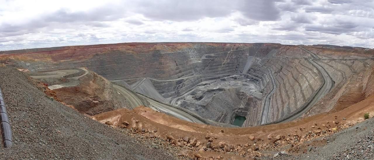 Beispielbild einer Goldmine - Goldpreis gestützt durch Notenbanken