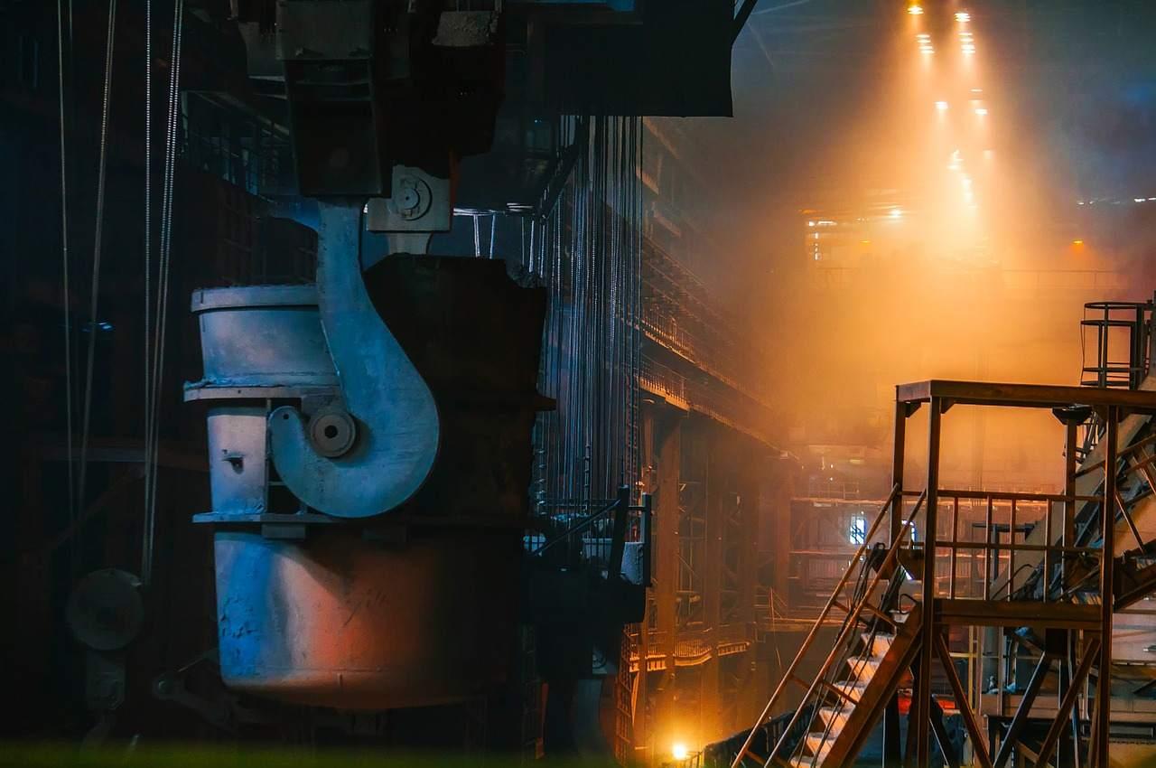 Beispielbild Stahlproduktion - deutsche Wirtschaft