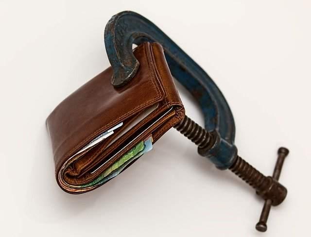 Inflation Beispielfoto Geldbörse