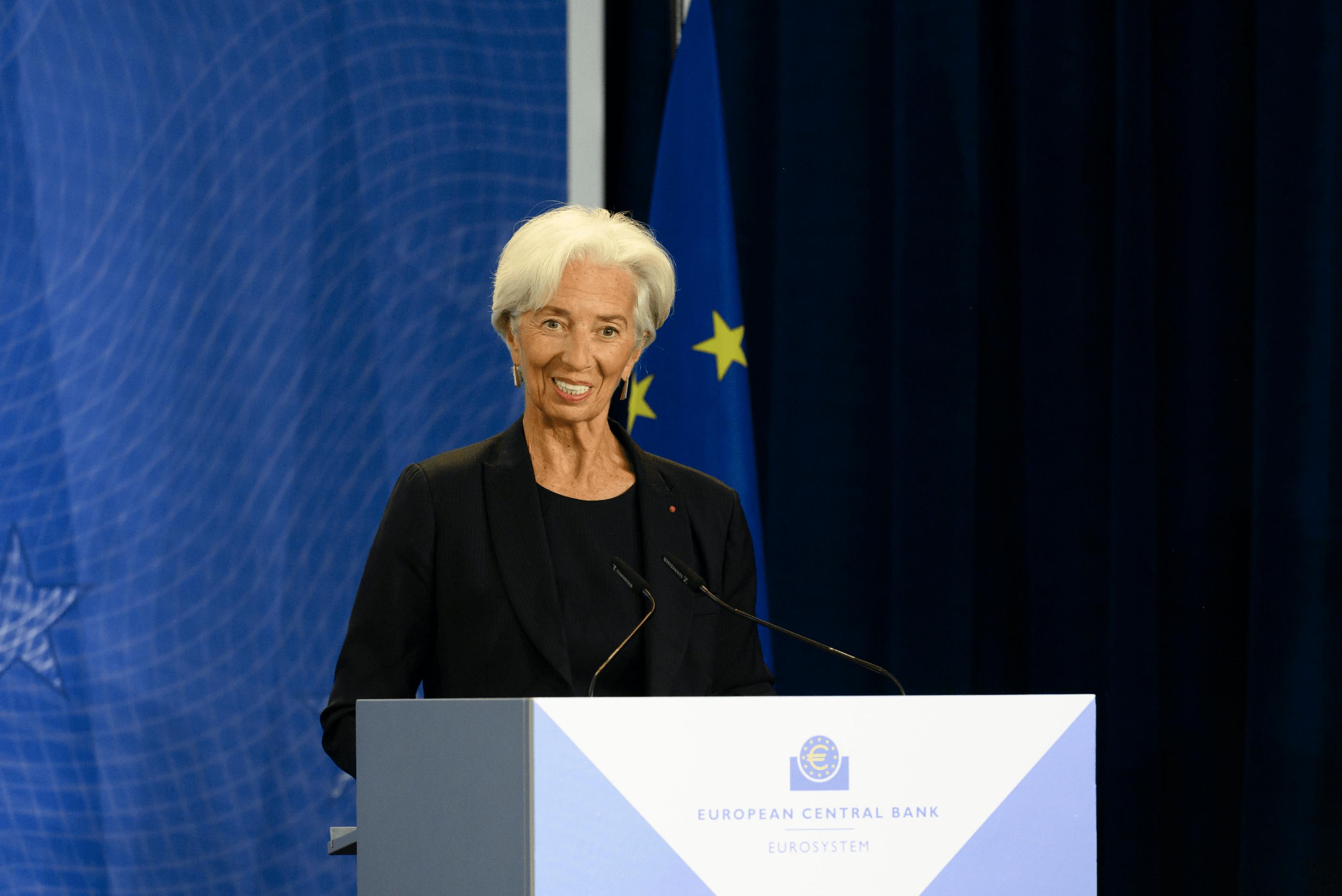 Christine Lagarde ist ab heute als EZB-Chefin tätig