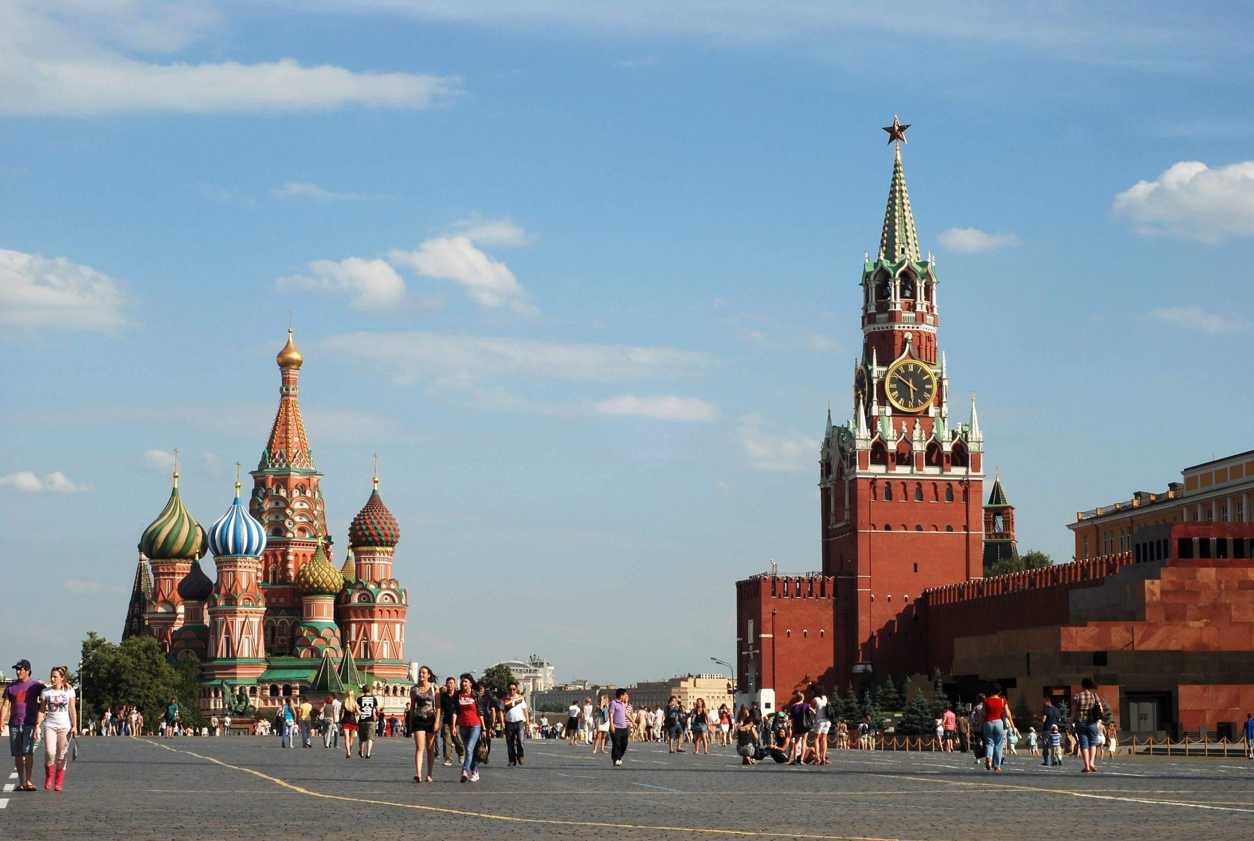 Russland - Roter Platz Moskau