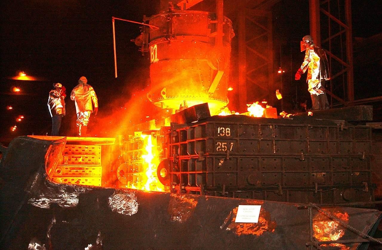 Beispielfoto für Stahlproduktion