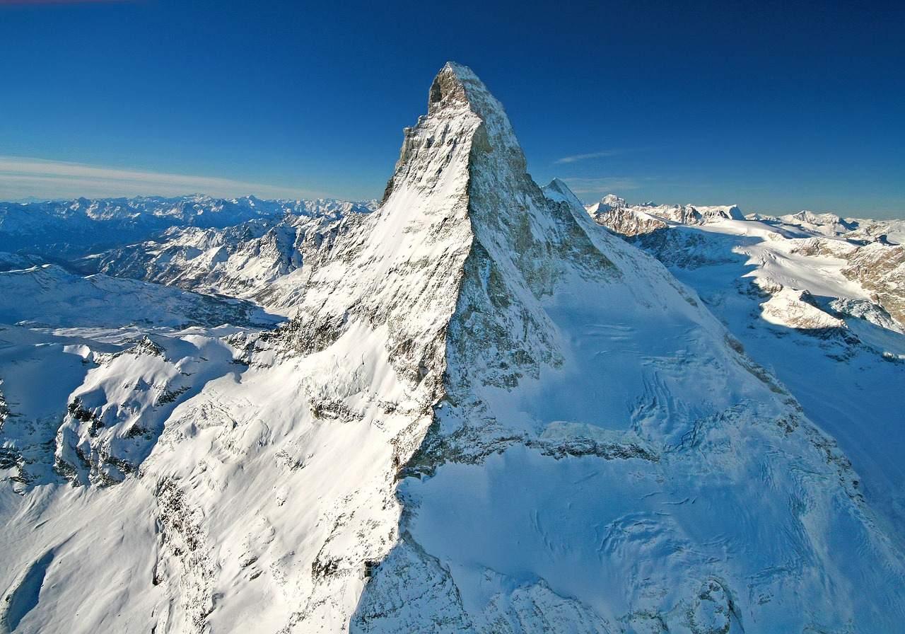 Bergpanorama als Symbol für die Schweiz