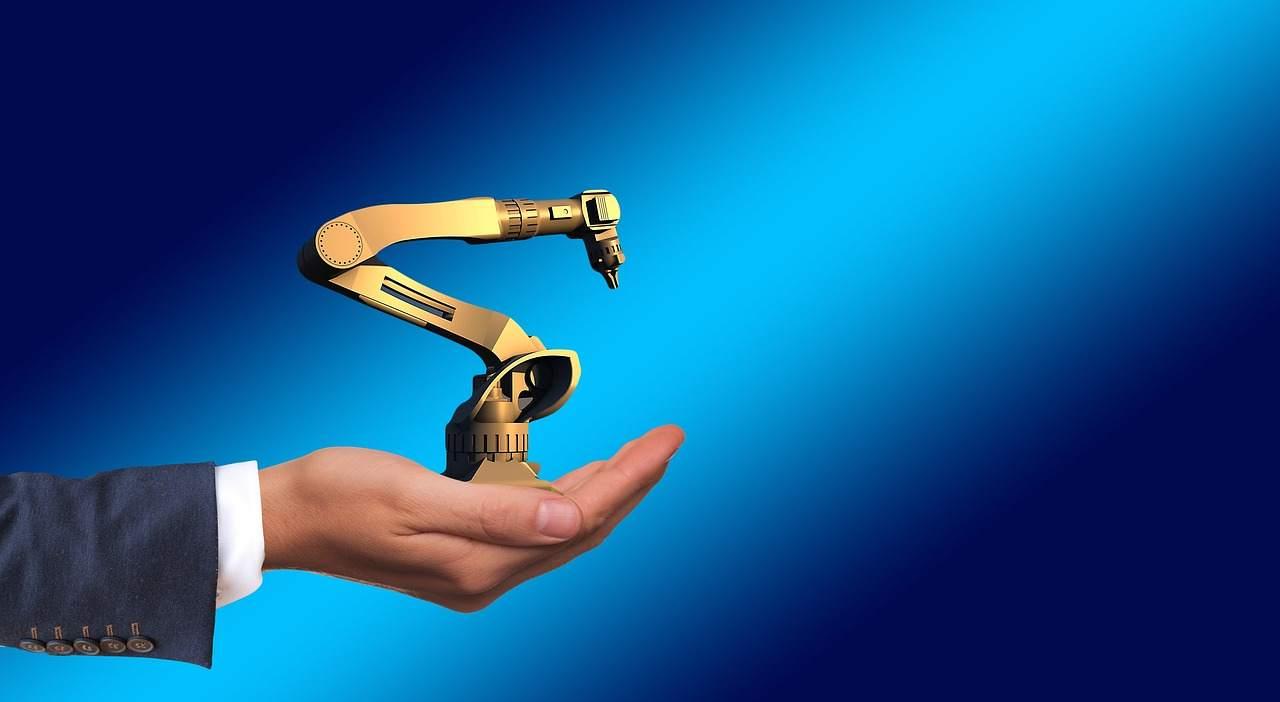 Schlüsseltechnologie Industria Machine Automatiche - Beispielbild Roboter