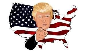Trump hat gestern erneut sein politisches Credo wieder gegeben