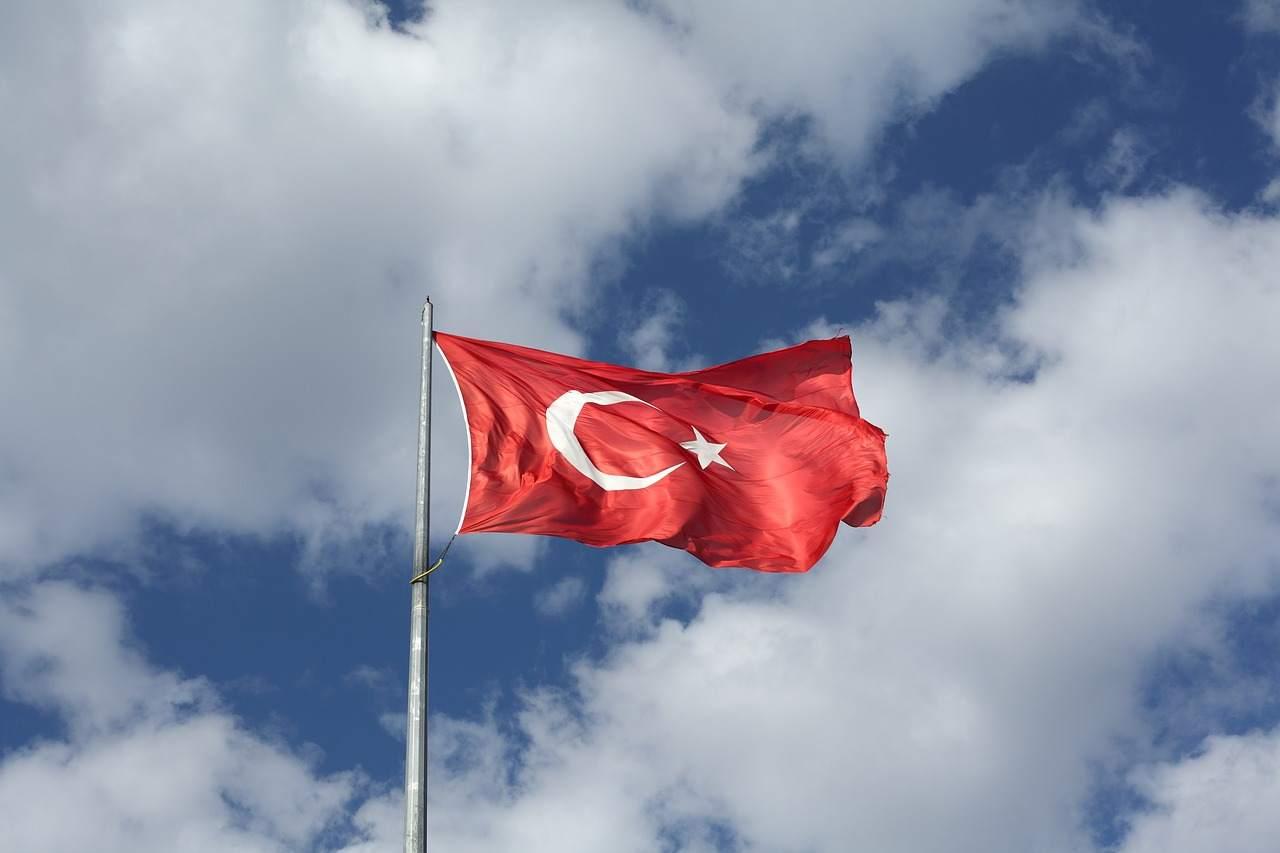 Türkei Flagge Beispielfoto