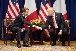 Trump droht Frankreich und der EU