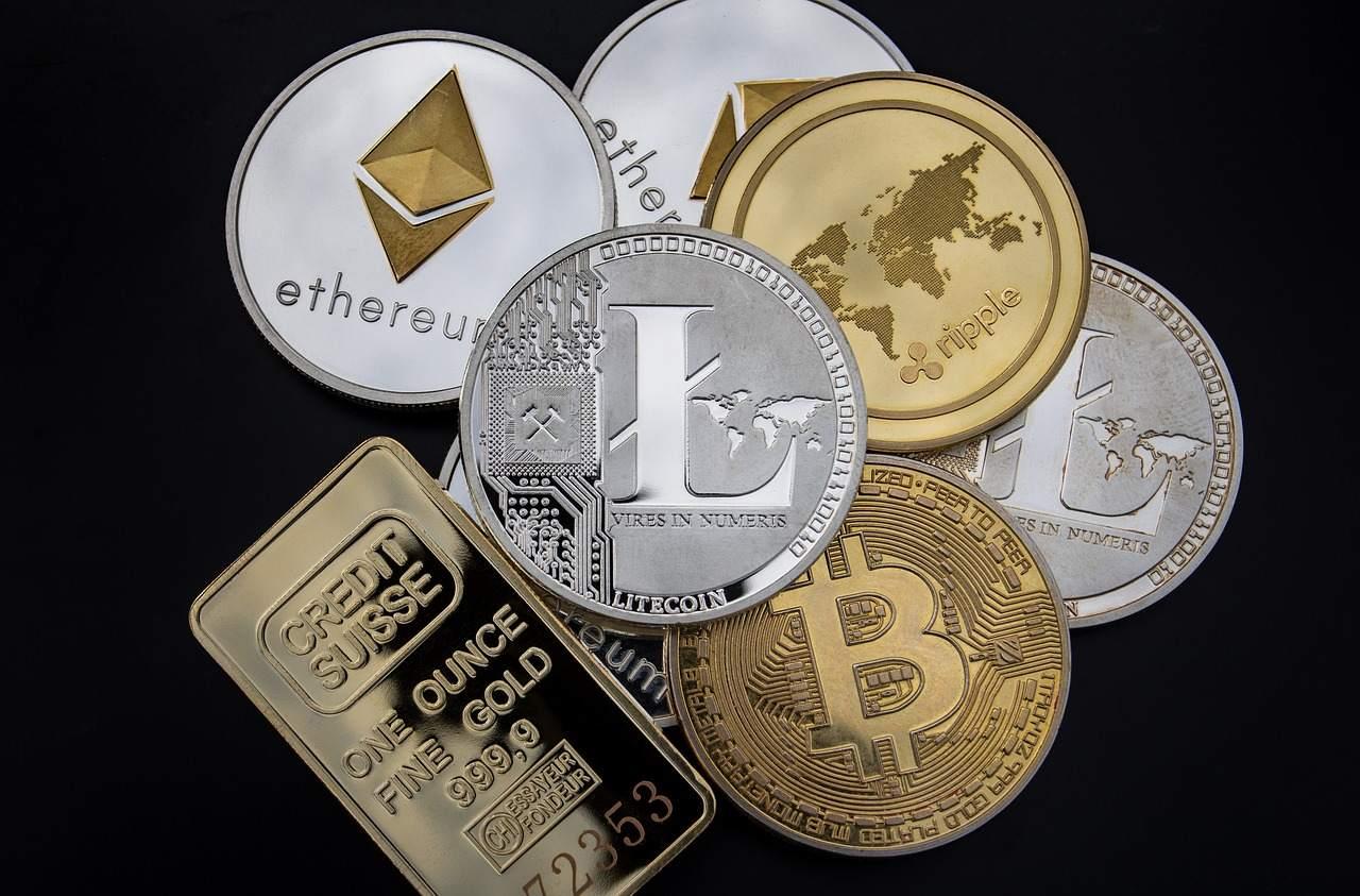 Bitcoin Kryptowährungen Beispielfoto