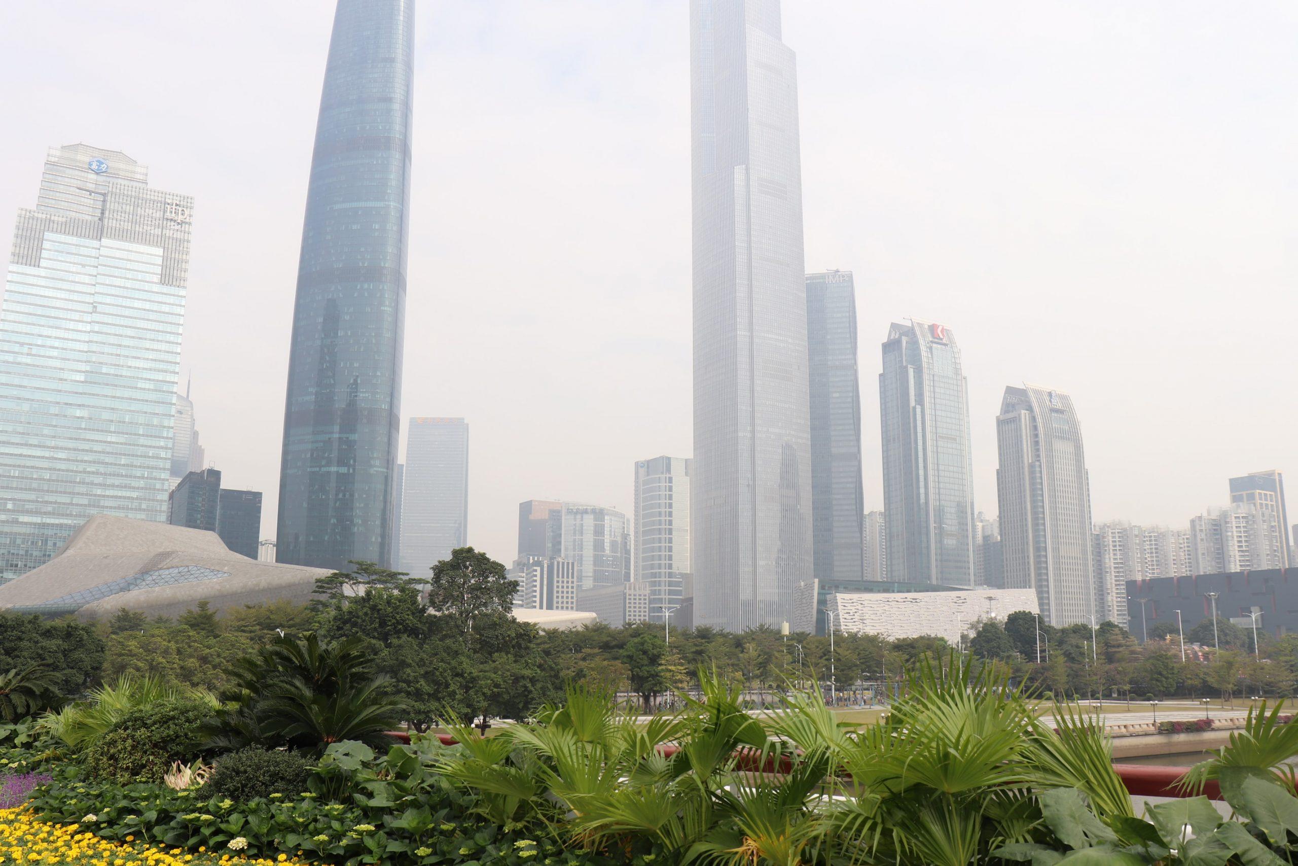 Guangzhou ist eine der Mega-Städte in China