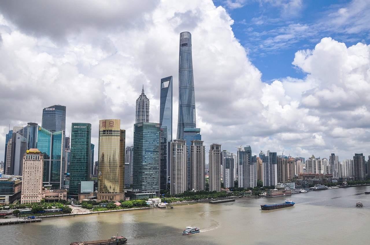 Die Skyline von Shanghai ist das Symbolbild für das Wachstum in China