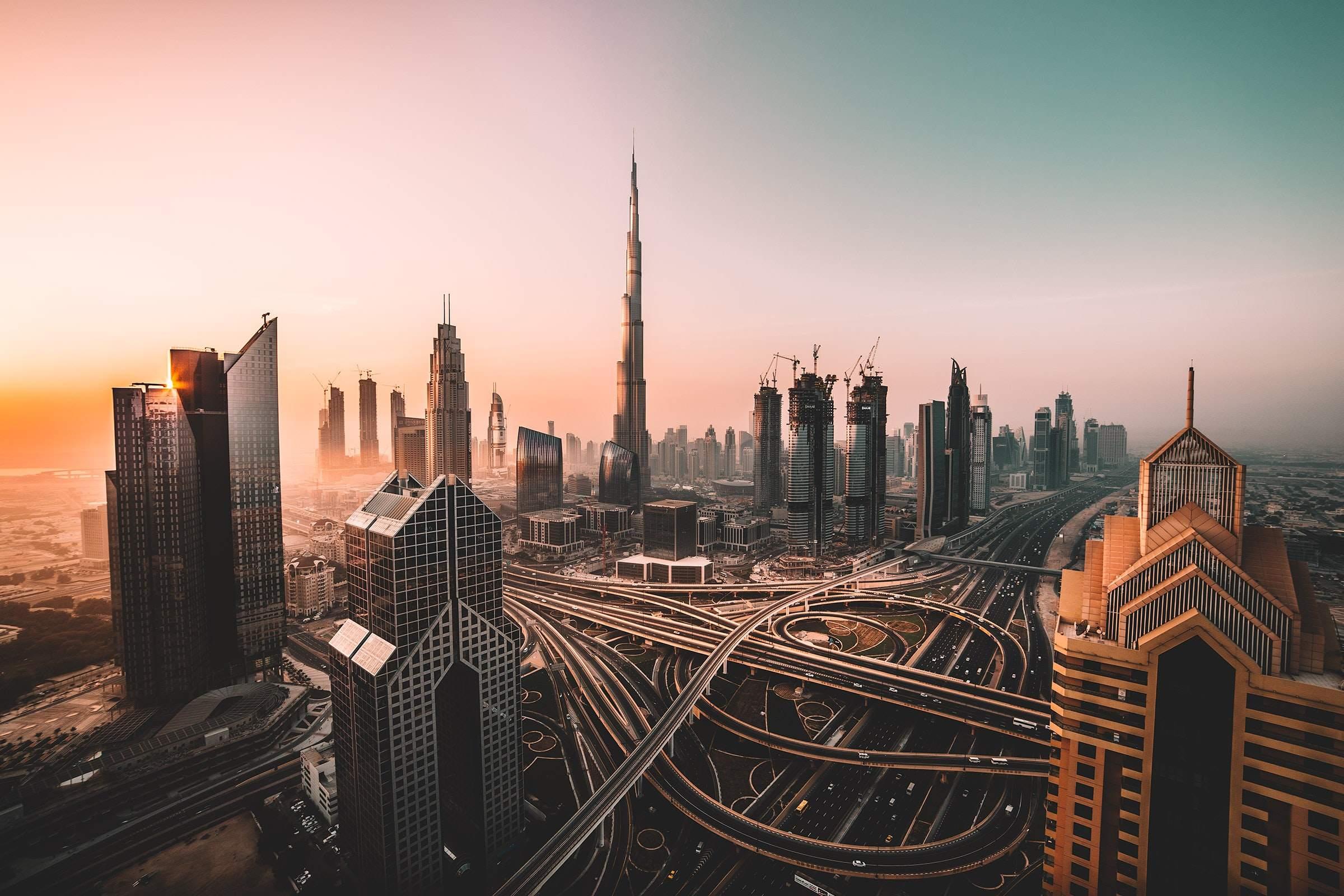Dubai Innenstadt - der Bauboom geht weiter?