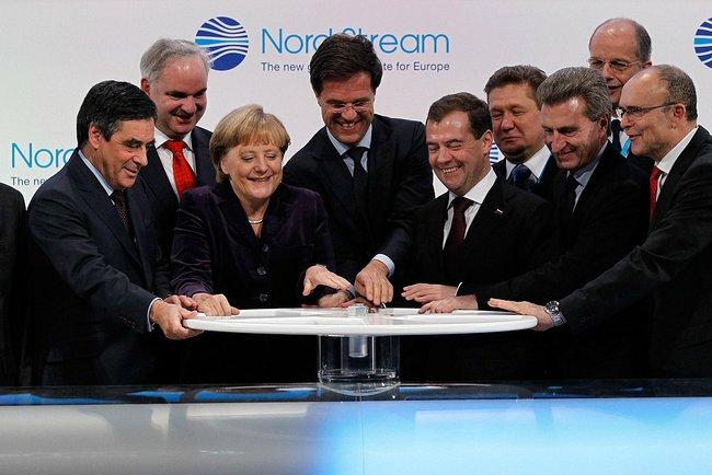 Angela Merkel steht voll hinter Nordstream 2