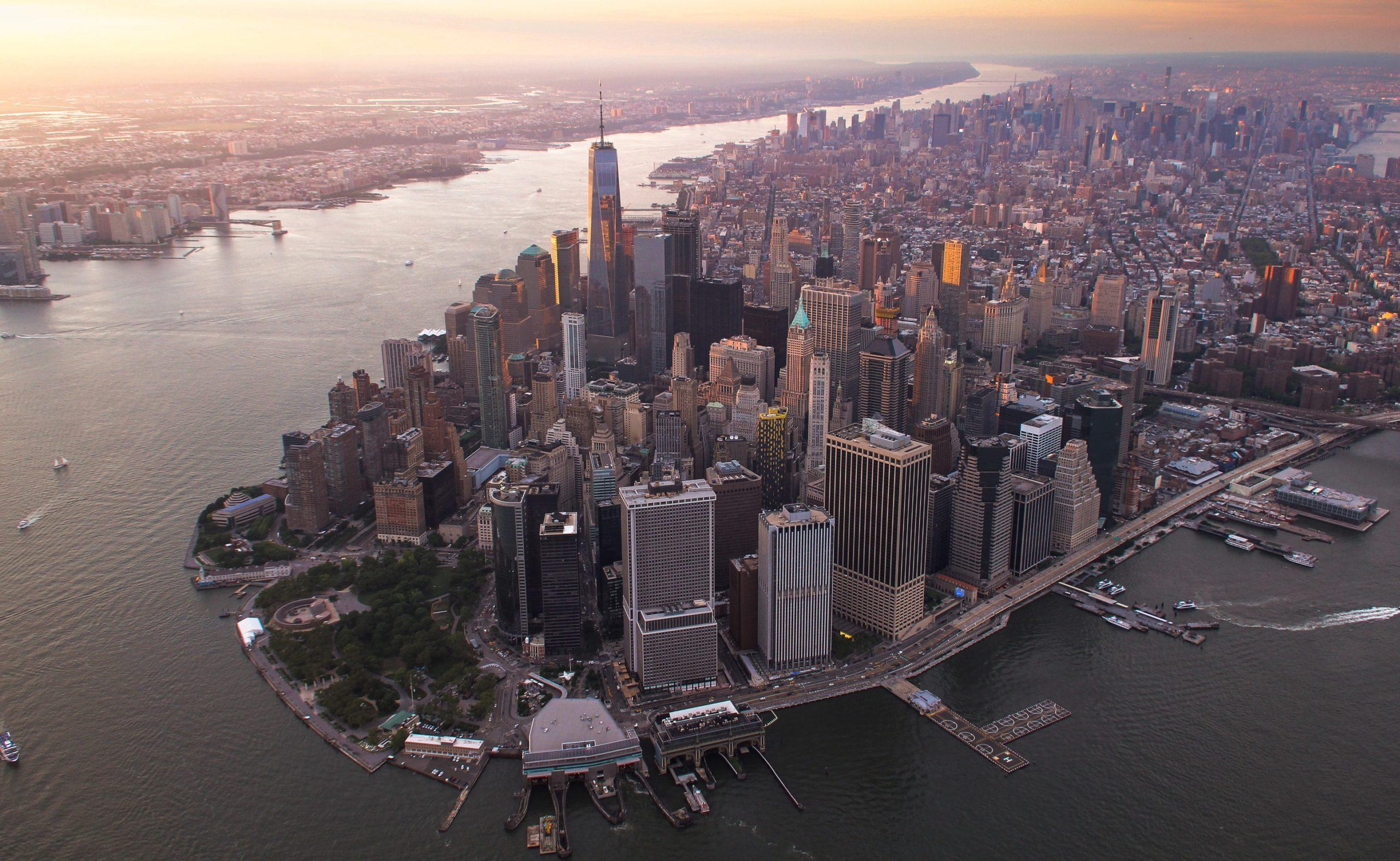The Big Short - die Kulisse von Lower Manhattan
