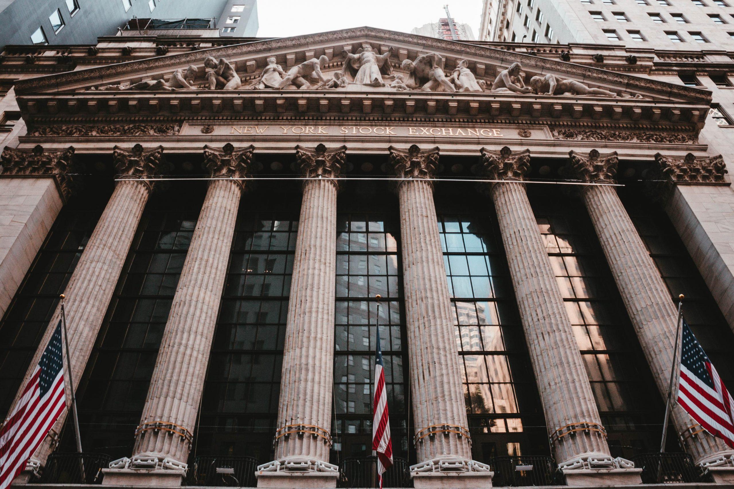 NYSE als Symbol der globalen Aktienmärkte