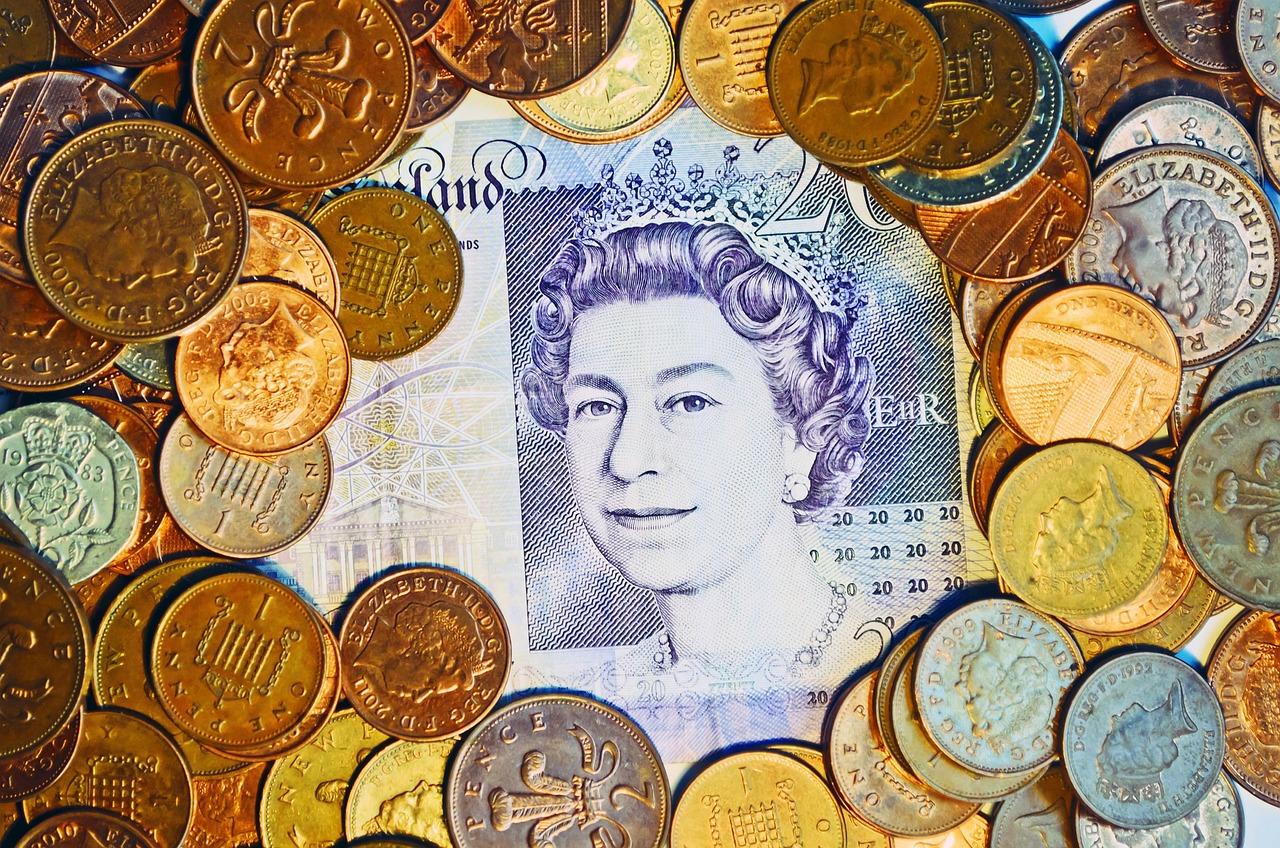 Britisches Pfund Beispielfoto