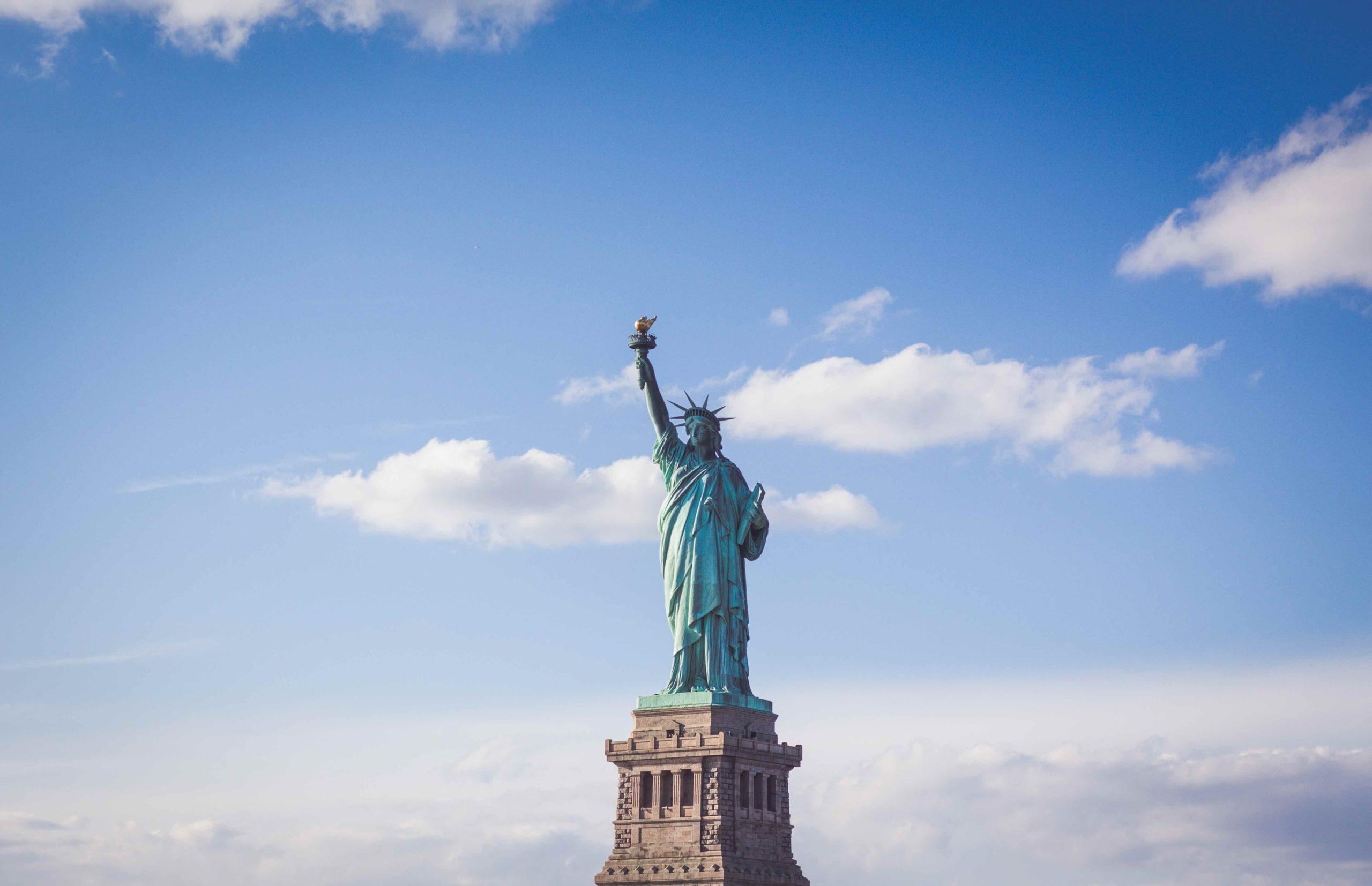 Die Freiheitsstatue - Symbol für die USA