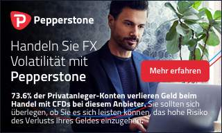 Handeln Sie FX Volatilität mit Pepperstone