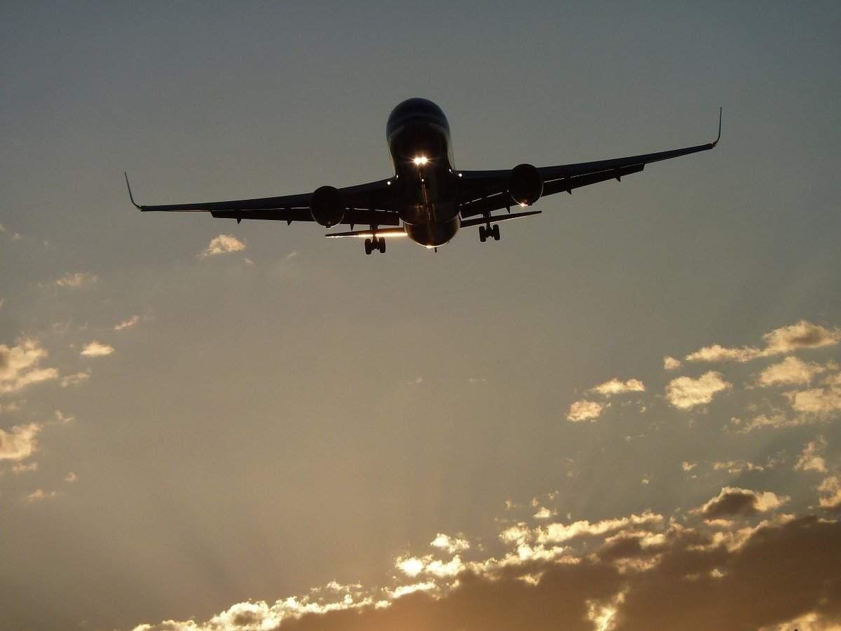 Symbolbild für Boeing Flugzeug im Landeanflug