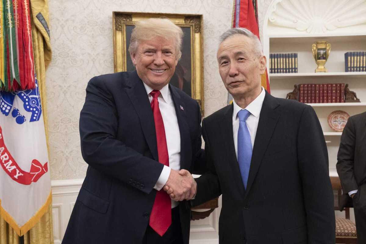 Handelskrieg entschärft? Trump und Liu He im Weißen Haus