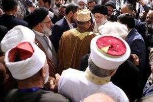 Der geistliche Führer des Iran, Khameini
