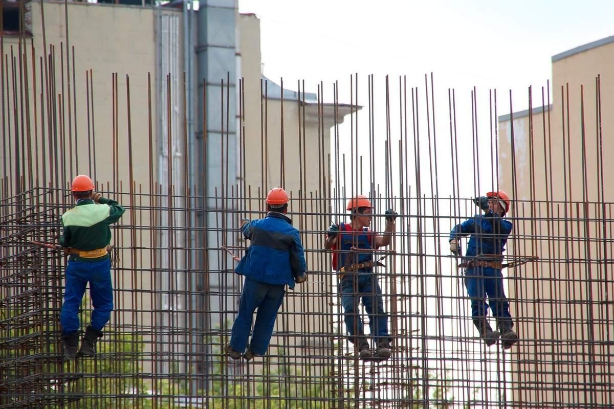 Auftragseingänge am Bau - Beispielfoto einer Baustelle