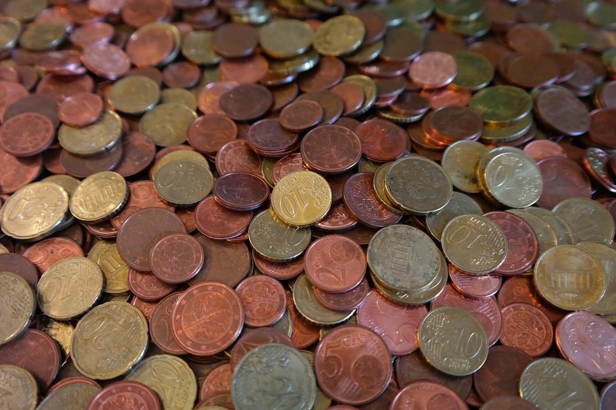 Beispielfoto für Euro Cent Münzen