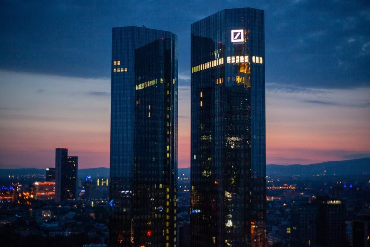 Deutsche Bank Hochhäuser in Frankfurt