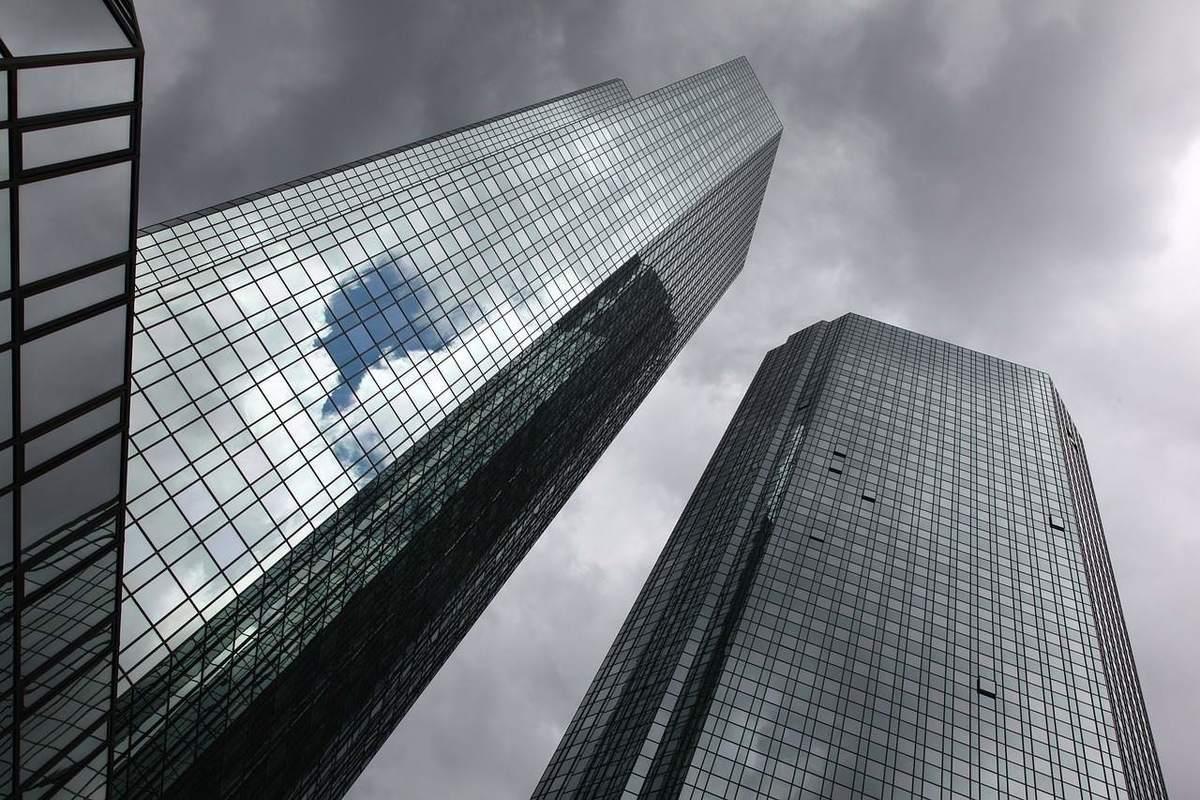 Deutsche Bank Hochhäuser
