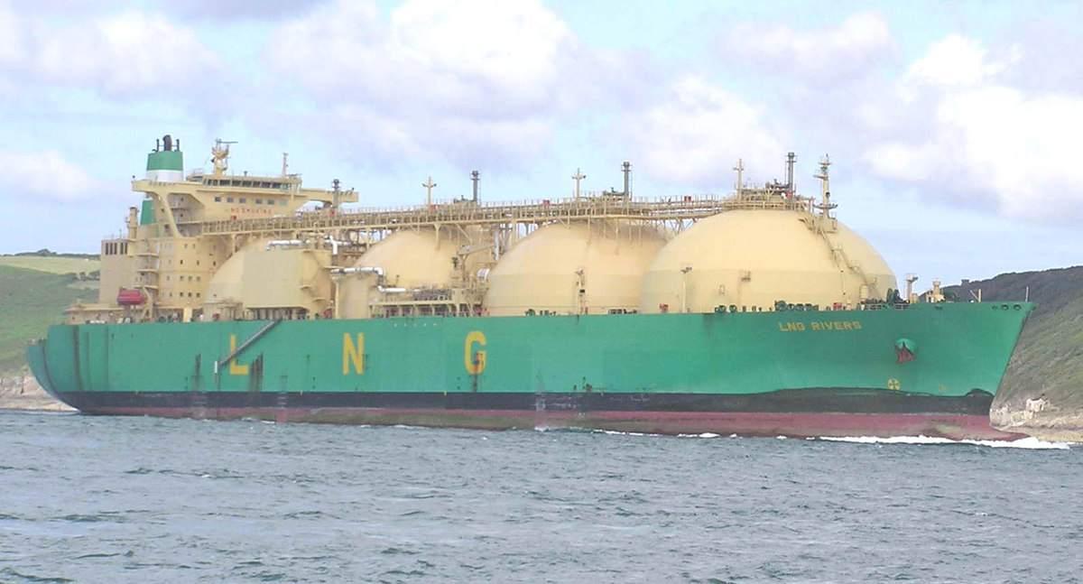 Transport von Flüssig-Gas in Schiffen