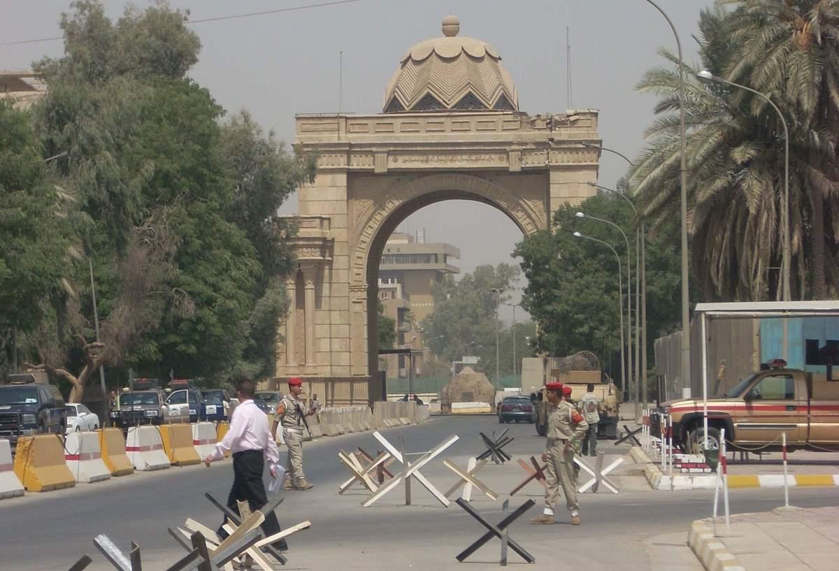 Die Grüne Zone in Bagdad